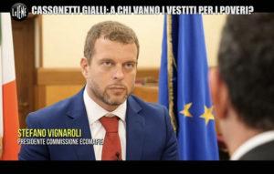 Intervista alle iene del Presidente Vignaroli