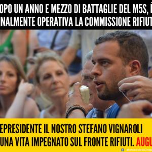 elezione Stefano Vignaroli