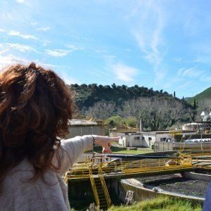 Sopralluogo della Commissione a un impianto di depurazione in Sicilia centrale